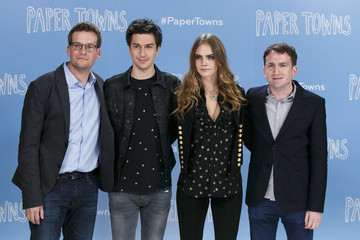 Nat Wolff 'Paper Towns' Actors Pose at The Corinthia Hotel in London