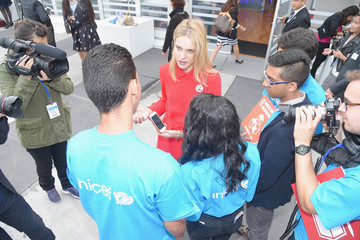 Natalia Vodianova Natalia Vodianova UNICEF Youth Meet and Greet