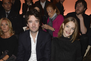 Natalia Vodianova Louis Vuitton : Front Row  - Paris Fashion Week Womenswear Fall/Winter 2014-2015