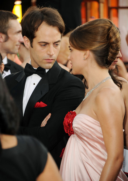natalie portman and benjamin golden globes