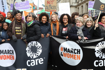 Natalie Dormer #March4Women 2020 - Rally