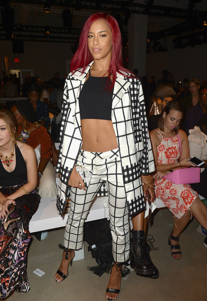 Image result for natalie la rose fashion week
