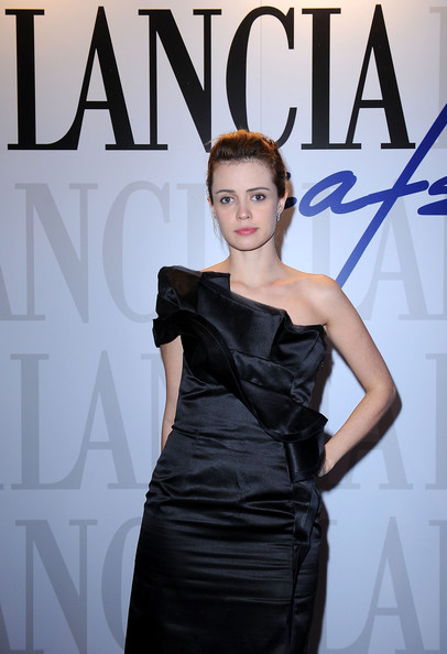 Celebrities At The Lancia Cafe - October 29, 2011