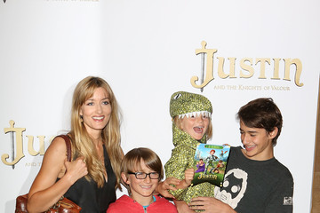 "Natascha McElhone ""Justin And The Knights Of Valour"" - UK Premiere - Red Carpet Arrivals"