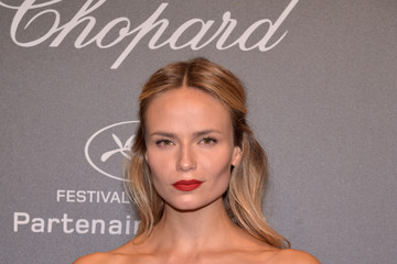 Natasha Poly Chopard Space Party - Photocall - The 70th Cannes Film Festival