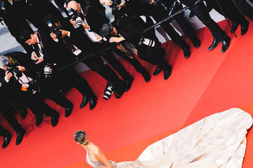 Natasha Poly 'Oh Mercy! (Roubaix, Une Lumiere)'Red Carpet - The 72nd Annual Cannes Film Festival