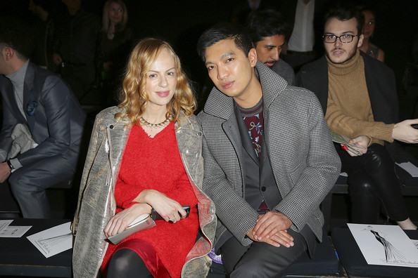Front Row at the Renato Balestra Show