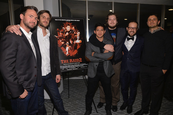 'The Raid 2' Afterparty in LA [the raid 2,event,premiere,suit,team,nate bolotin,joe trapanese,gareth evans,iko uwais,nick spicer,aram tertzakian,sony picture classics,premiere,party]