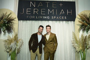 Nate Berkus and Jeremiah Brent attend Nate + Jeremiah for Living Spaces Fall 2019 Collection Media Event at Glasshouse Chelsea on September 12, 2019 in New York City.