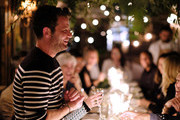 Nate Berkus speaks at the Nate + Jeremiah For Living Spaces Upholstery Collection Launch Dinner at Gallow Green at the McKittrick Hotel on September 25, 2018 in New York City.