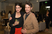 Sydney Gilbert (L) and Nate Berkus attend Nate + Jeremiah For Living Spaces at HNYPT on April 11, 2019 in Los Angeles, California.