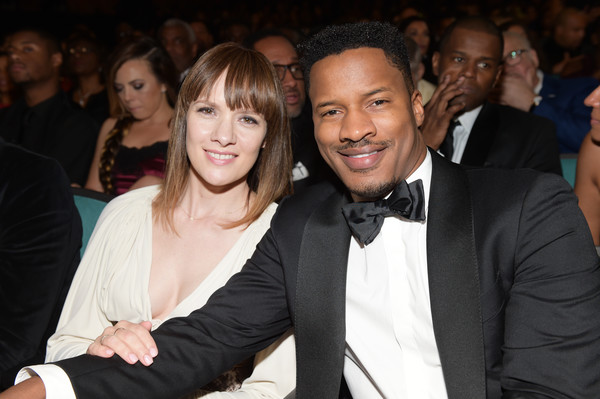 48th NAACP Image Awards - Backstage and Audience [event,formal wear,suit,fashion,fun,smile,premiere,tuxedo,fashion design,party,naacp image awards,backstage,pasadena civic auditorium,california,nate parker,audience,sarah disanto,r]