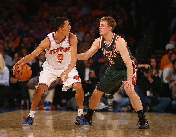 Nate Wolters Photos Photos - Milwaukee Bucks v New York ...