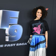 Nathalie Emmanuel Universal Pictures Presents The Road To F9 Concert And Trailer Drop - Red Carpet