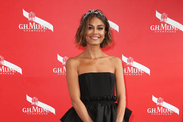 Nathalie Kelley Celebrities Attend Melbourne Cup Day