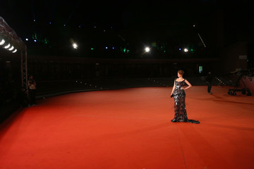 Nathalie Rapti Gomez 'Florence Foster Jenkins' Red carpet - 11th Rome Film Festival