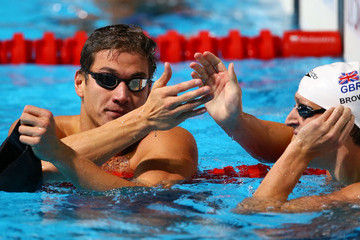 Nathan Adrian Swimming - 15th FINA World Championships: Day Twelve