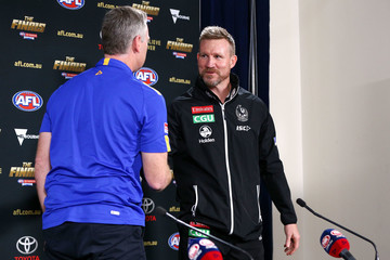 Nathan Buckley 2018 AFL Grand Final Official Press Conference