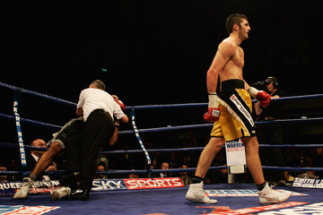 Victor Loughlin Nathan Cleverly v Courtney Fry - British & Commonwealth light-heavyweight
