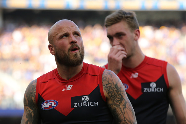 AFL Preliminary Final - West Coast v Melbourne [demons,australian rules football,team sport,player,sports,team,rugby player,rugby union,championship,muscle,rugby league,nathan jones,scoreboard,west coast,melbourne,field,afl,preliminary final,match,afl preliminary final]