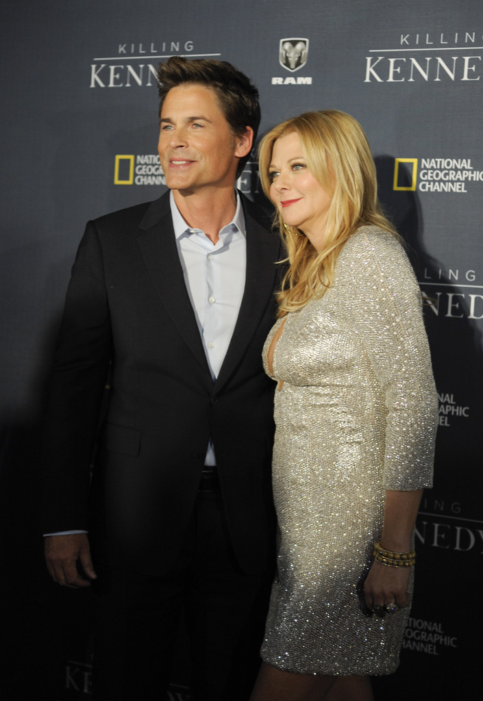 Rob Lowe admits he sleeps better when hes not with his