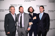 Ronald Bronstein, Adam Sandler, Josh Safdie, and  Benny Safdie attend The National Board of Review Annual Awards Gala at Cipriani 42nd Street on January 08, 2020 in New York City.