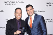Director Lee Unkrich and Gio Benitez attend the National Board of Review Annual Awards Gala at Cipriani 42nd Street on January 9, 2018 in New York City.