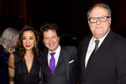 Michelle Yeoh, John Penotti, and David Linde attend The National Board of Review Annual Awards Gala at Cipriani 42nd Street on January 8, 2019 in New York City.
