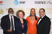 (2nd L-R) Debra Lee Susan L. Taylor, Founder of the National CARES Mentoring Movement and Michael Eric Dyson attend the National CARES Mentoring Movement's third annual For The Love Of Our Children Gala on January 29, 2018 in New York City.  (Photo by Bennett Raglin/Getty Images for National CARES Mentoring Movement))