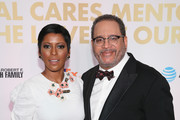 Tamron Hall and Michael Eric Dyson attend the National CARES Mentoring Movement's third annual For The Love Of Our Children Gala on January 29, 2018 in New York City.  (Photo by Bennett Raglin/Getty Images for National CARES Mentoring Movement))