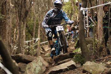 Gee Atherton National Downhill Mountainbike Championships