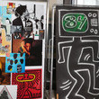 Jean-Michel Basquiat and Keith Haring Photos