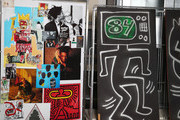 Jean-Michel Basquiat and Keith Haring Photos Photo