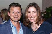 Steve Zahn and Carolyn Bernstein attend the National Geographic's Annual Summer Party at Waldorf Astoria Beverly Hills on July 24, 2018 in Beverly Hills, California.