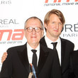 Geoffrey Rush and Tom Hooper Photos