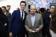 """John Mulaney and Lorne Michaels attends The Natural Resources Defense Council Presents """"Night of Comedy"""" Benefit Hosted by Seth Meyers on April 30, 2019 in New York City."""