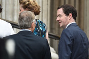 Former prime minister Tony Blair and Chancellor  George Osborne attend a National Service of Thanksgiving as part of the 90th birthday celebrations for The Queen at St Paul's Cathedral on June 10, 2016 in London, England.