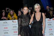 Kimberley Walsh and Denise Van Outen attend the National Television Awards held at the O2 Arena on January 22, 2019 in London, England.