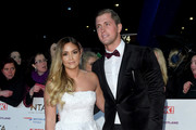 Jacqueline Jossa and Dan Osborne attend the National Television Awards held at the O2 Arena on January 22, 2019 in London, England.