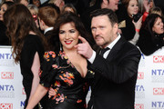 Debbie Rush and Ian Puleston Davies attend the National Television Awards 2012 at the 02 Arena on January 25, 2012 in London, England.