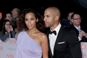 Rochelle Humes and Marvin Humes attend the National Television Awards 2018 at the O2 Arena on January 23, 2018 in London, England.