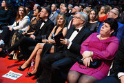 Jennie McAlpine, Kym Marsh, Anthony Cotton, Tina O'Brien and Bill Roache at the 21st National Television Awards at The O2 Arena on January 20, 2016 in London, England.