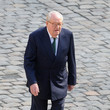 Jean-Marie Le Pen A National Tribute to Four Soldiers Killed  In Afghanistan - Ceremony