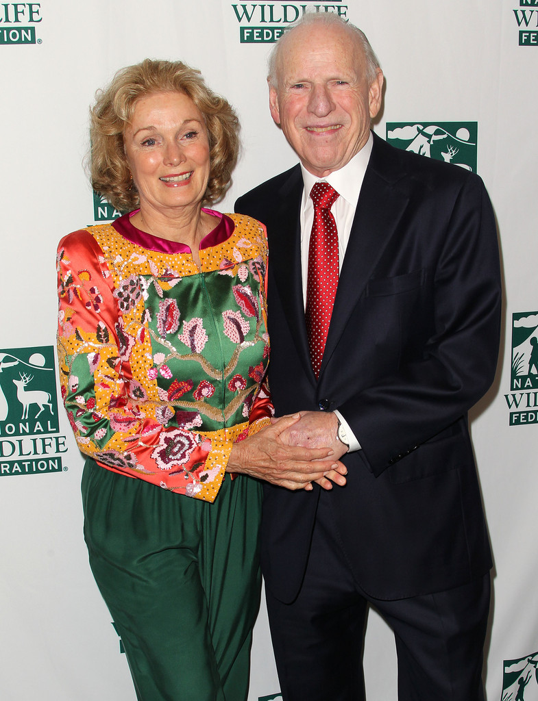 Yvette Mimieux with current husband Howard Ruby