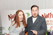"""Catherine Tate and Marc Wootton attend the UK Premiere of """"Nativity 3: Dude Where's My Donkey?"""" at Vue West End on November 2, 2014 in London, England."""
