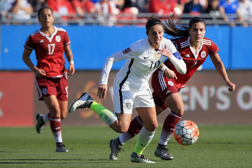 Nayeli Rangel United States v Mexico: Group A - 2016 CONCACAF Women's Olympic Qualifying