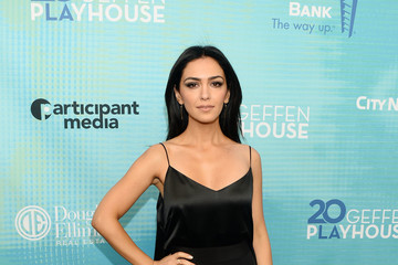 Nazanin Boniadi Backstage At The Geffen