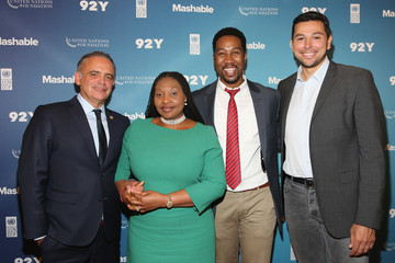 Ndaba Mandela Celebs Attend the 2015 Social Good Summit - Day 1