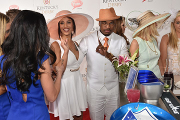 Ne-Yo Crystal Renay The Grey Goose Lounge at the 141st Running of the Kentucky Derby