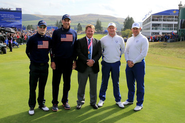 Neal Briggs Afternoon Foursomes - 2014 Ryder Cup